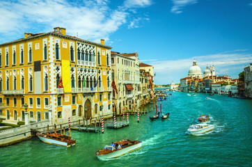 Canal Grande and Basilica di Santa Maria, Venice, Italy
