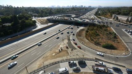 San Diego Freeway Morning