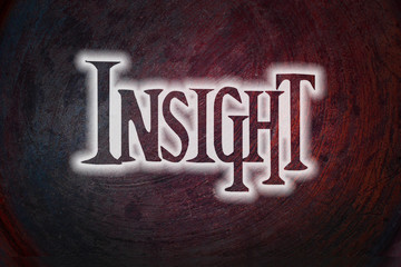 Insight Concept