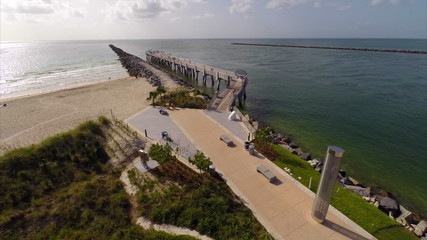 South Pointe Park fishing pier