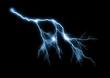 Leinwanddruck Bild - Lightning bolt