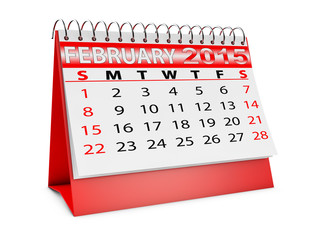 calendar for February