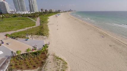 Miami Beach and fishing pier circa 2014