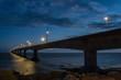 Confederation Bridge at night