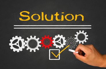 solution with gear concept