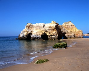 Beach at Praia da Rocha, Portugal © Arena Photo UK