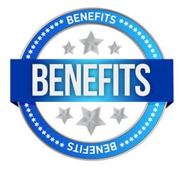 benefits seal illustration design