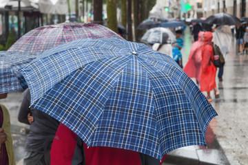 gut geschützt vor Regen