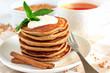 Buckwheat pancakes with banana