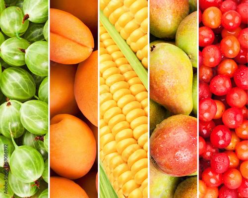 canvas print picture fruits