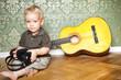kleiner Musiker