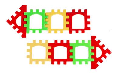 arrows multicolored