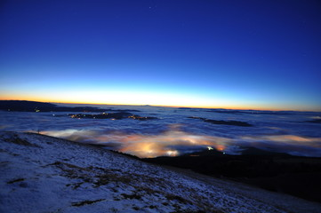 Nebbia di notte