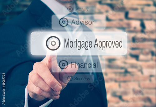 Mortgage Loan Approval Concept - 69087708