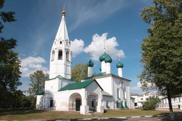 Древняя церковь Николы рубленого в Ярославле, Россия
