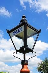 Wrought iron streetlight, Arley © Arena Photo UK
