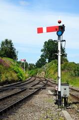 Semaphore railway signal, Arley © Arena Photo UK