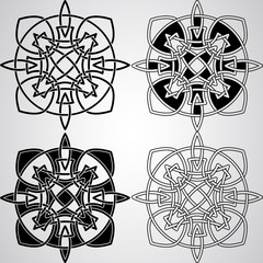 Vector Celtic Design Elements