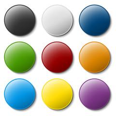 Sammlung farbig Markierzubehör - Reißnagel