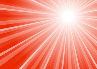 Hintergrund Streifen mit Mittelpunkt rot