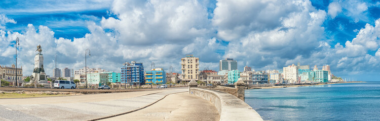 The skyline of Havana
