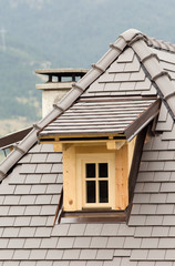 Dormer on the roof