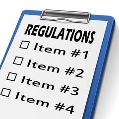 regulations clipboard