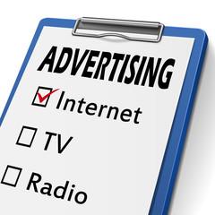 advertising clipboard