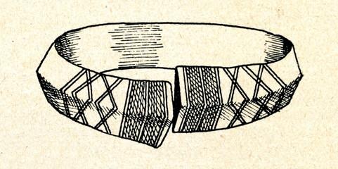 Latvian bracelet (5-8 century)