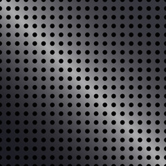 Vector metal plant with hole background for creative work
