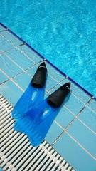 Aletas de natación