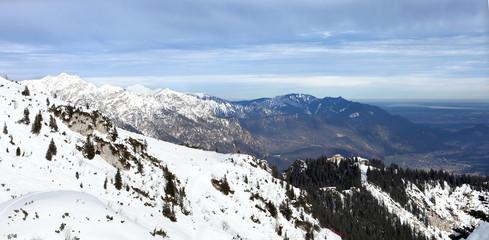 Winter in German Alps, Garmish-Partenkirchen