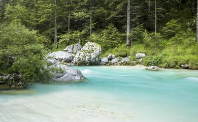 Soca River in Triglav National Park