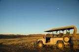Safari landrover in Africa