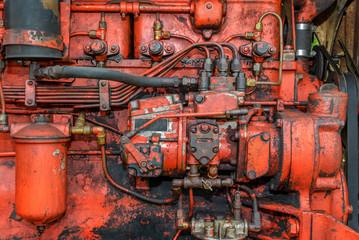 Vintage Tractor Engine