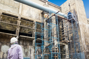 Building factory repairing