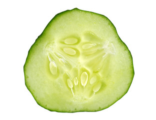 Slice of cucumber.