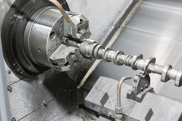 cam shaft cnc turning