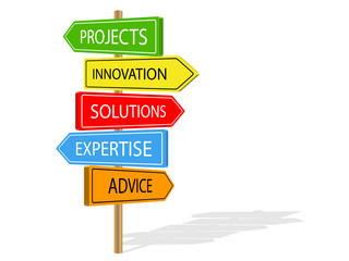 SOLUTIONS Signposts (innovation advice projects expertise)