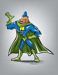 Vector Super Hero (Vector Art)