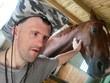 Trisomique homme et cheval