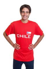 Stehender Fan aus Chile