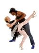 Tango Dancer Pair in Love