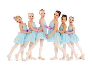 Junior Petite Ballet Class of Girls