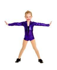 Adorable Junior Tap Dancer Student