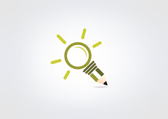 idea pencil logo