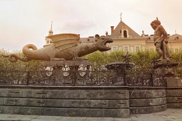dragon emblème Klagenfurt Autriche