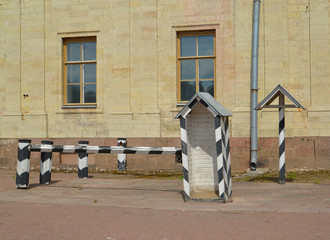 Guard post about the Big Gatchina palace