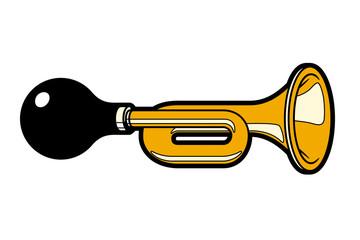 Horn, klaxon.