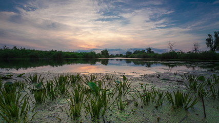 Perfect Landscape Dawn Time Lapse